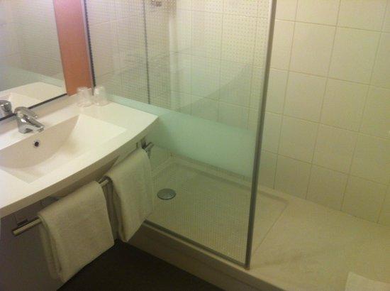 Ibis Hyeres Centre: Vue de la salle de bains