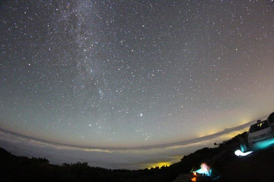 Astro La Palma: Picture of the stars, taken by Agustin.