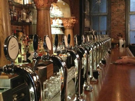 Stoddard's Beer Taps