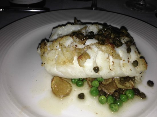 Brasserie L'Oustau : Seared Cod