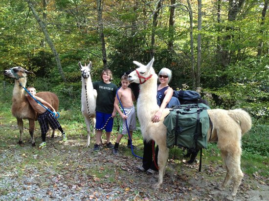 Smoky Mountain Llama Treks - Day Tours : Our llama guides