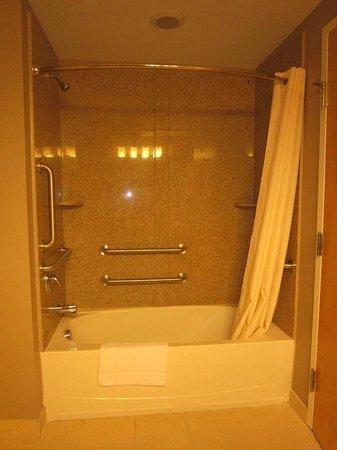 Red Carpet Inn and Suites: ADA (Handicap Accessible Bathroom)