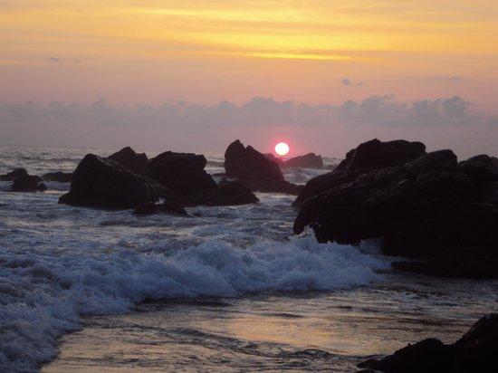 Posada Real Puerto Escondido: Bello atardecer
