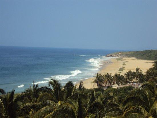 Posada Real Puerto Escondido: Playa casi virgen