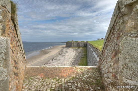 The Highlanders' Museum (Queen's Own Highlanders Collection): The Moray Firth from a Cannon emplacement on the Ramparts of Fort George