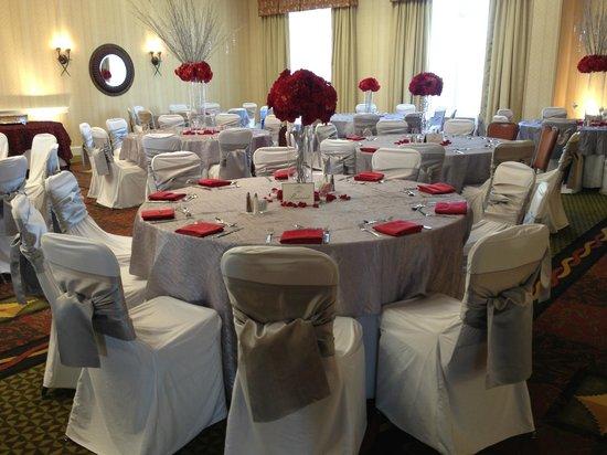 Hilton Garden Inn Nashville/Vanderbilt : Wedding Reception