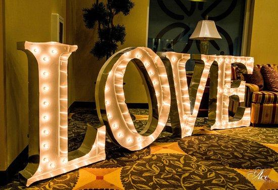 Hilton Garden Inn Nashville/Vanderbilt: Lighting Feature