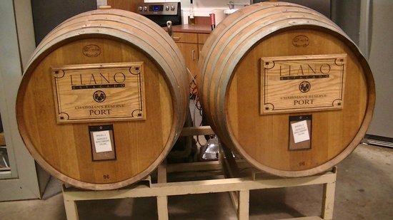 Llano Estacado: Examples of the barrels