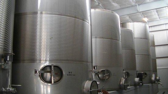 Llano Estacado: Wine vats