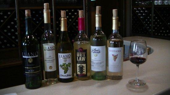 Llano Estacado: Wife's tastings
