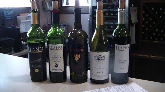 Llano Estacado: Husband's tastings