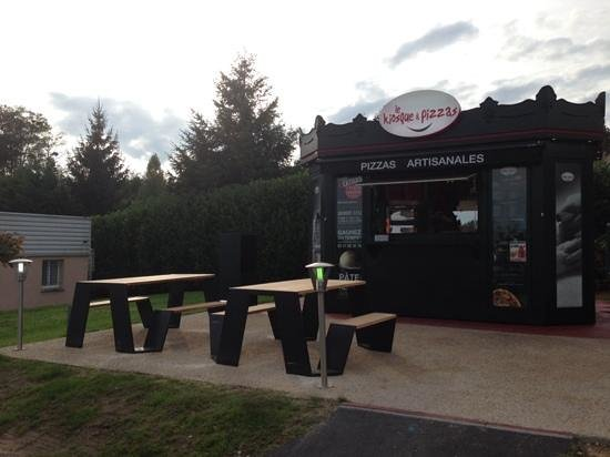Le Kiosque a pizzas - Montlouis sur Loire : kiosque a pizzas Montlouis