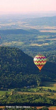Charlotte, VT : rolling hills of Vermont