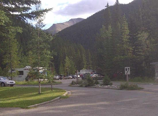 Miette Hot Springs Resort : Hot Springs are just that far from your room.