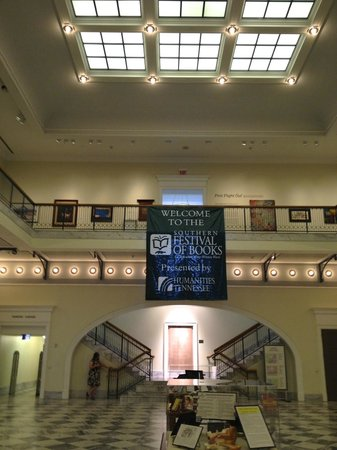 Nashville Public Library: The main lobby is spectacular.