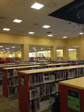 Nashville Public Library: The children's room is huge, with wonderful child-sized furniture to read on.
