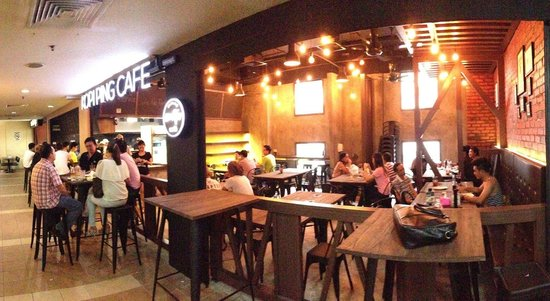 Kopi ping cafe Warisan square outlet is stunning! Very cozy and well designed outlet..foods and