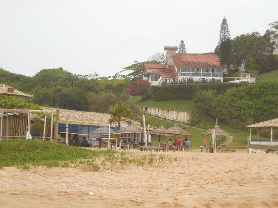 Apa Pau Brasil Hotel : Hotel visto da praia