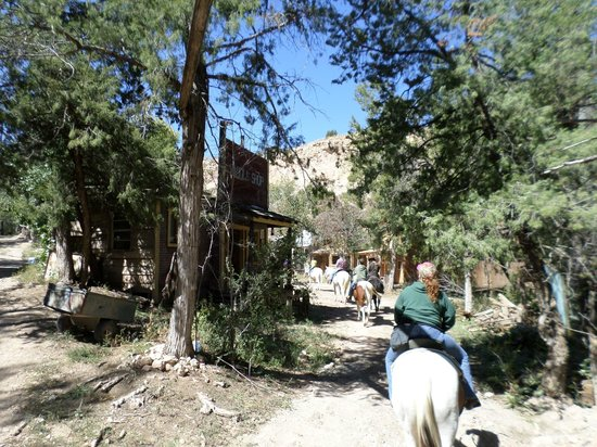 Palo Duro Riding Stables : Canyon scenery