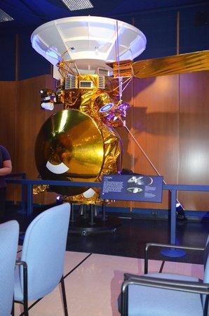 Jet Propulsion Laboratory : A model of one Satelite