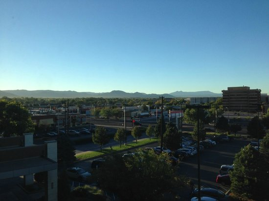 Sheraton Albuquerque Uptown: Morning view