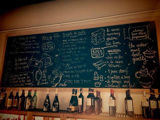 Felix The Food Society: Interior del restaurante
