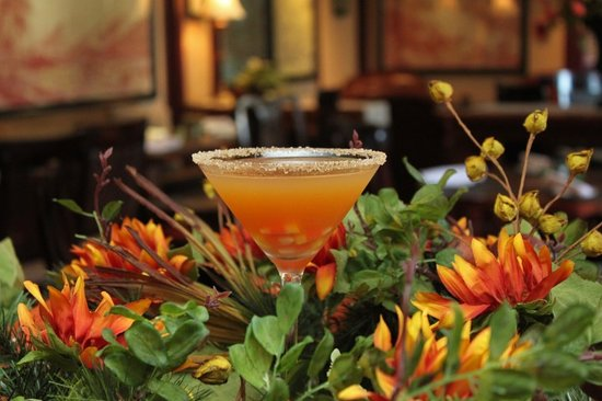 Bistro 1834: Candy Corn Martini