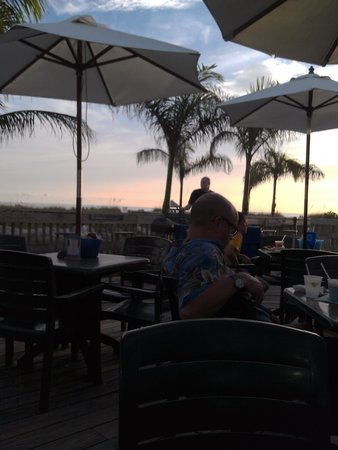 Jimmy B's Beach Bar: from the patio of Jimmy B's