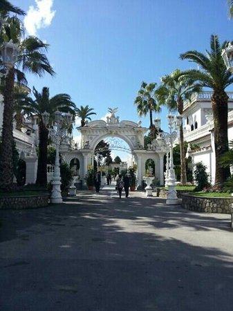 Grand Hotel La Sonrisa: l'ingresso