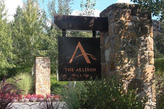 Allison Inn & Spa: entrance