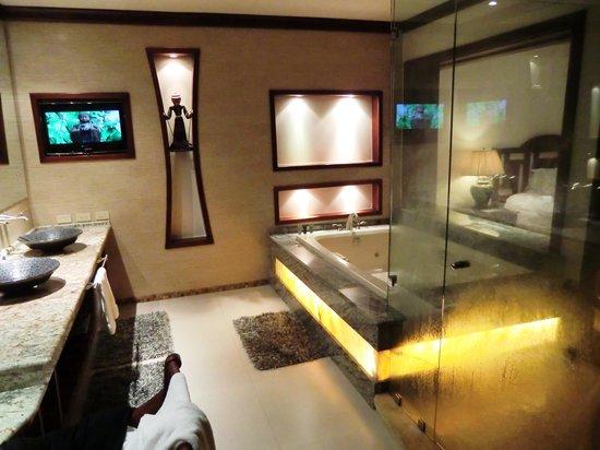 Tabacon Thermal Resort & Spa: la salle de bain