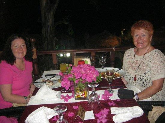 Manuela Restaurant : terrace restaurant manuela hotel