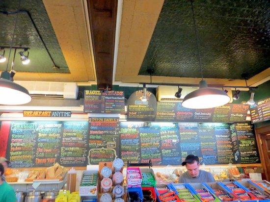 Old Fogies Cafe Menu
