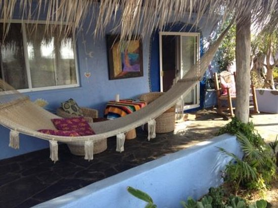 Baja Beach Oasis: outside another casita with hammock
