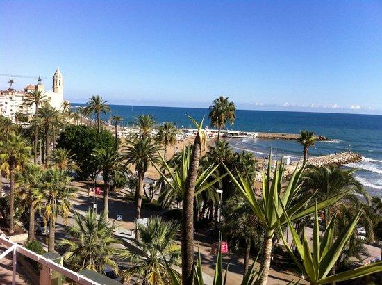 Hotel Platjador: Lovely hot day in October!