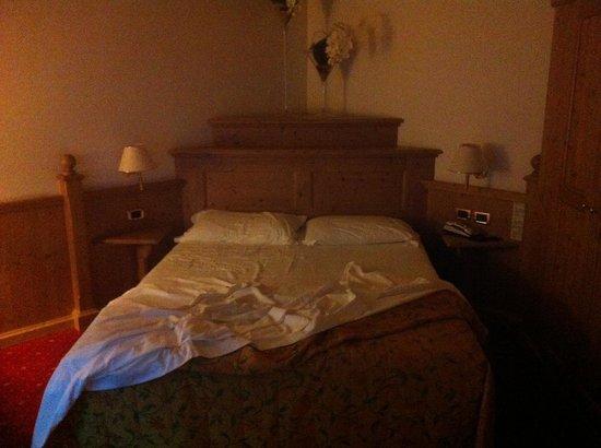 Sporthotel Rosatti: Schlafzimmer einer Suite