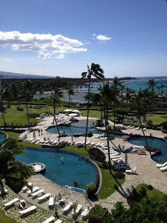 Waikoloa Beach Resort: View from Balcony