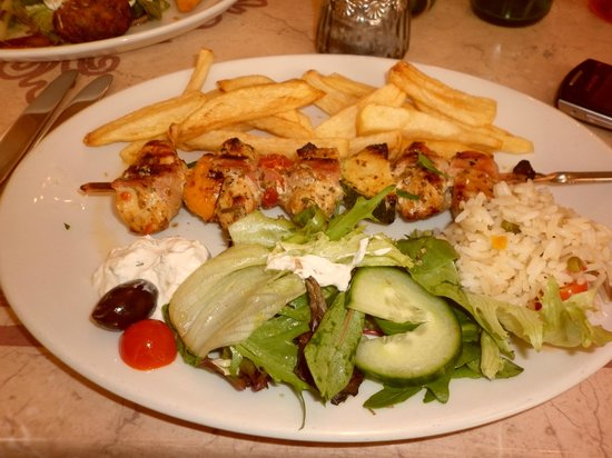 Alexandros Greek Restaurant and Deli: Food