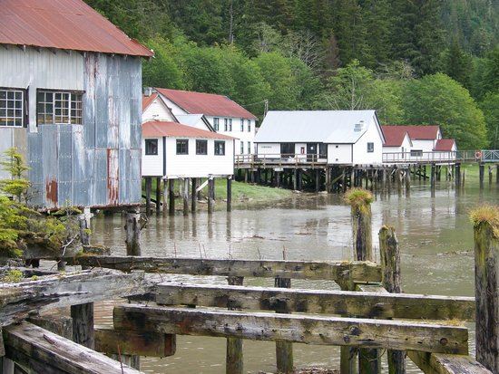 North Pacific Cannery Museum : A part of the cannery, the European and japanese sections