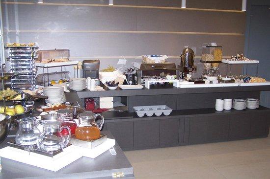 Milano Resort: Le buffet du petit déjeuner