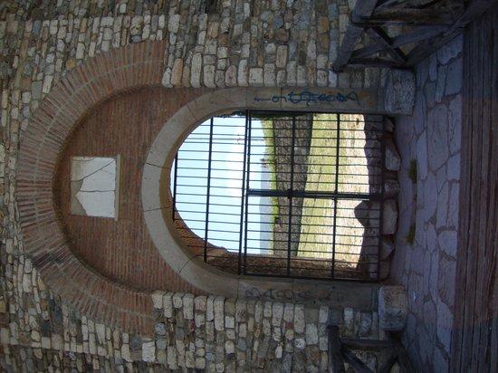 Skopje Fortress Kale: The windows