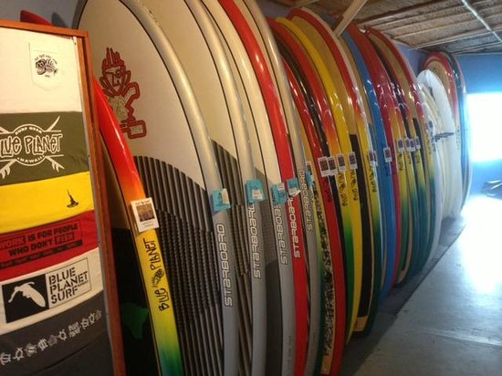 Blue Planet Surf: Blue Planet has the biggest selection of premium SUP rentals anywhere