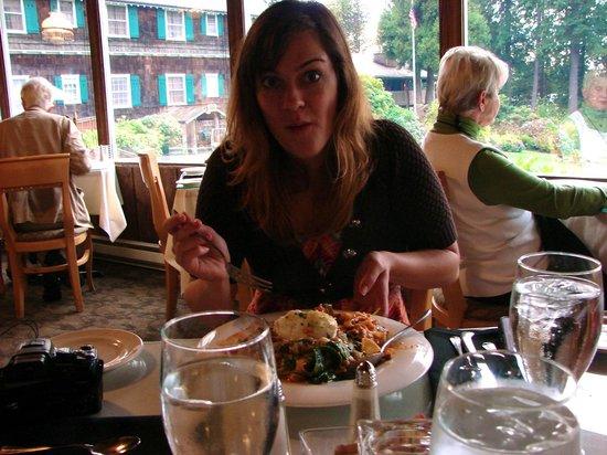Roosevelt Room: Big Pasta meal