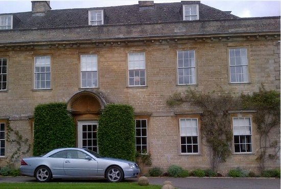 Babington House: I parked up at the front door - after that they dont allow cameras - very private