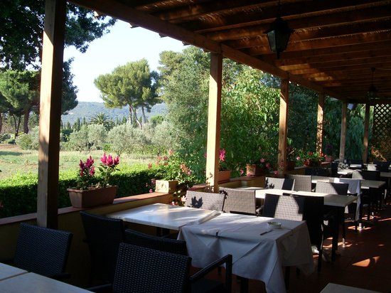 Hotel Tirrena : Veranda apparecchiata