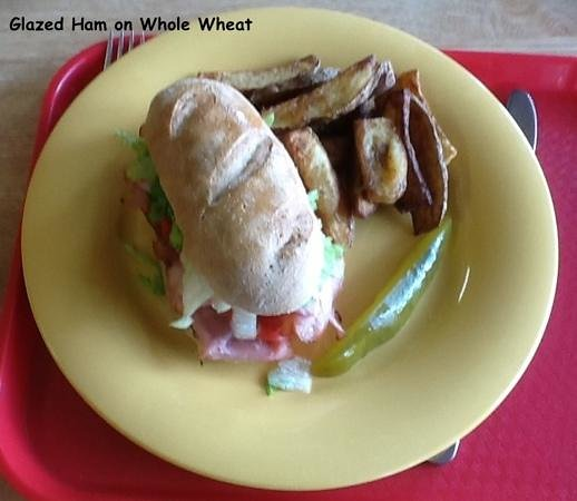 Cormick's: Glazed Ham sandwich