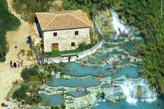 Hotel la Fonte del Cerro Saturnia: Hotel la FONTE del CERRO - cascate naturali - TERME di SATURNIA - ITALY