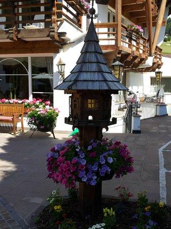 Gran Baita Sport & Wellness Hotel : Bird house