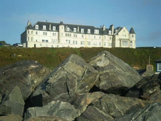 The Portpatrick Hotel : From across the harbour