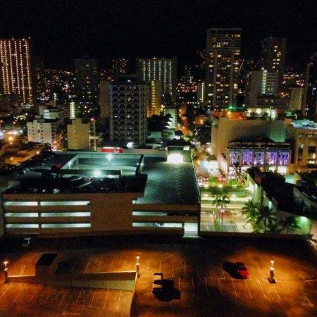 Waikiki Parc Hotel: 夜景♪